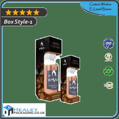 Custom Window E-Liquid Boxes
