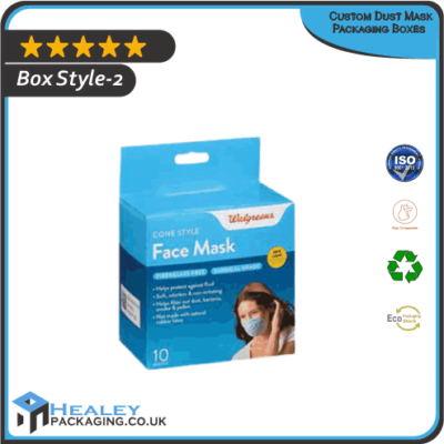 Dust Mask Packaging Boxes
