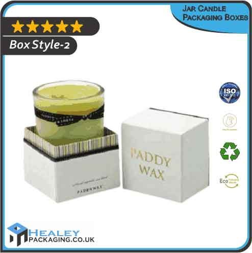 Jar Candle Packaging Box
