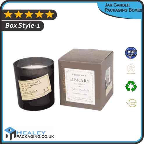 Custom Jar Candle Packaging Boxes