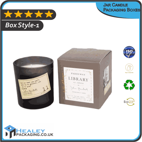 Jar Candle Packaging Boxes