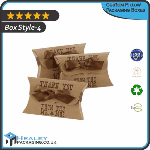 Pillow Packaging Boxes