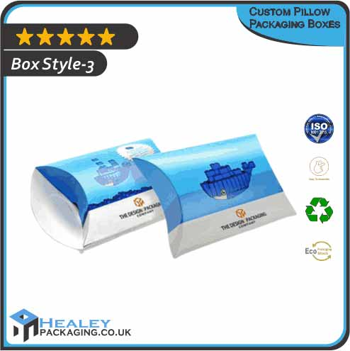 Pillow Packaging Boxes UK