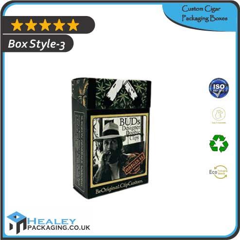 Printed Cigar Packaging Boxes