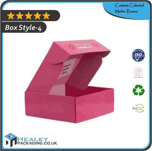 Printed Colored Mailer Box
