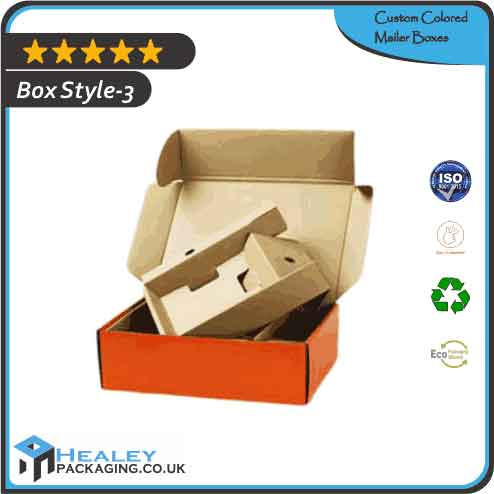 Printed Colored Mailer Boxes