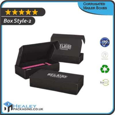 Printed Corrugated Mailer Box