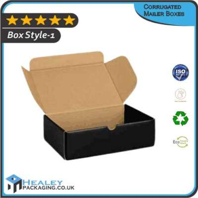 Printed Corrugated Mailer Boxes