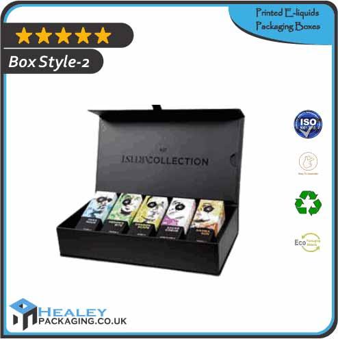 Printed E-liquids Box