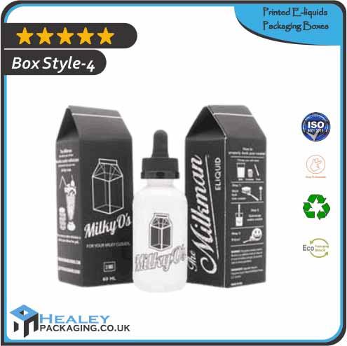 Printed E-liquids Packaging Box