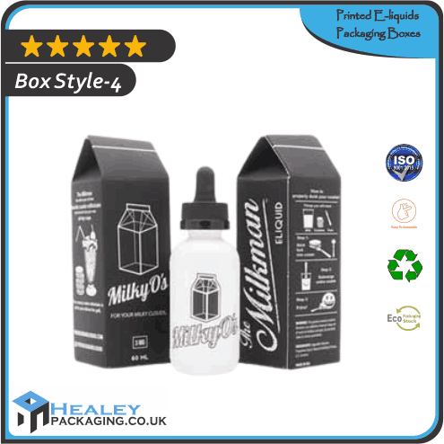 Printed E-liquids Packaging Box
