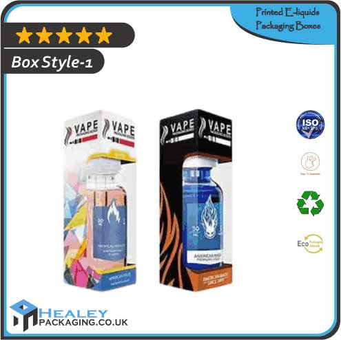 Printed E liquids Packaging Boxes 2