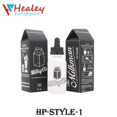 Printed E-liquids Packaging Boxes