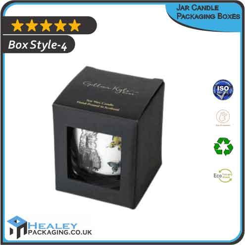 Printed Jar Candle Packaging Box