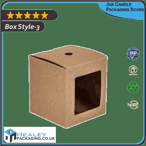 Printed Jar Candle Packaging Boxes