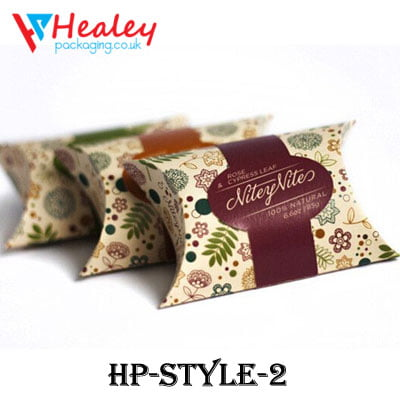 Printed Pillow Box