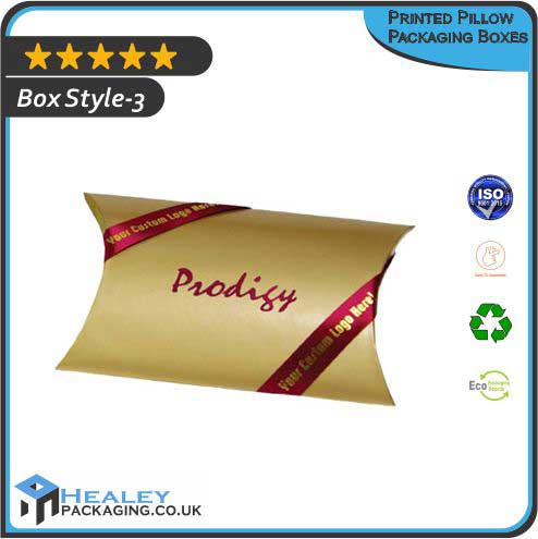 Printed Pillow Boxes