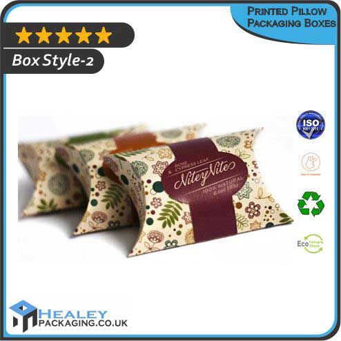 Printed Pillow Packaging Box