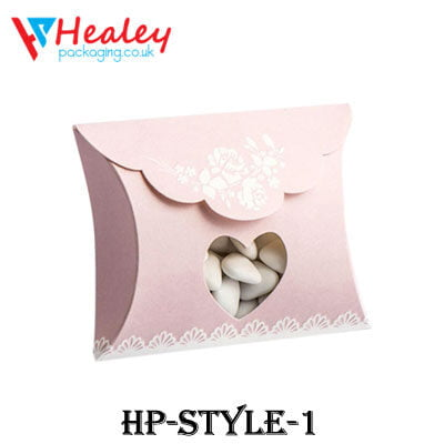 Printed Pillow Packaging Boxes