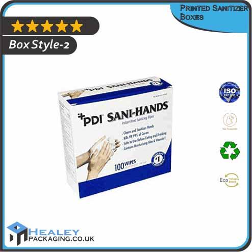 Printed Sanitizer Box