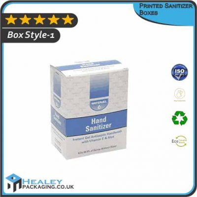 Printed Sanitizer Boxes