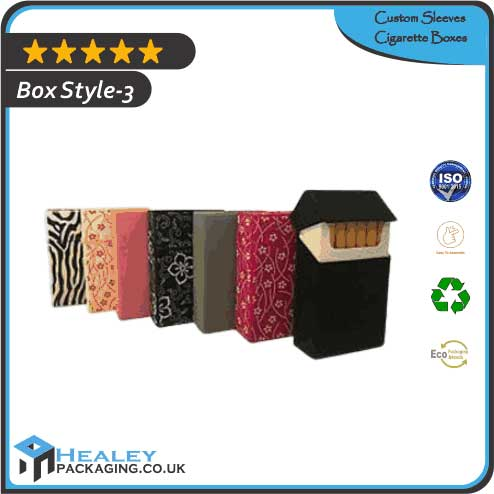 Printed Sleeves Cigarette Boxes