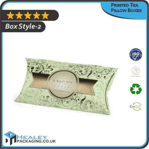 Printed Tea Pillow Box
