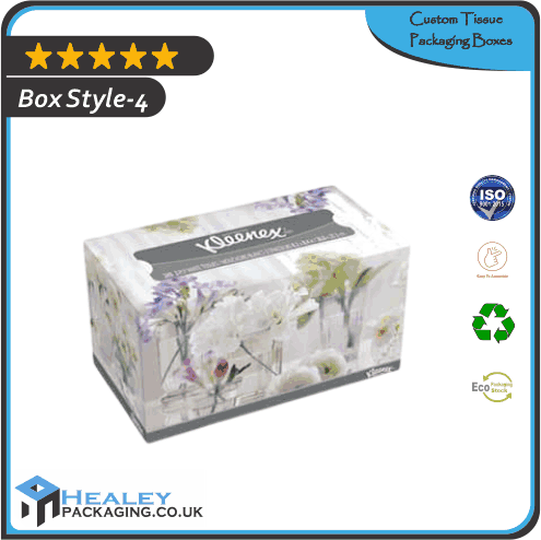 Printed Tissue Packaging Box
