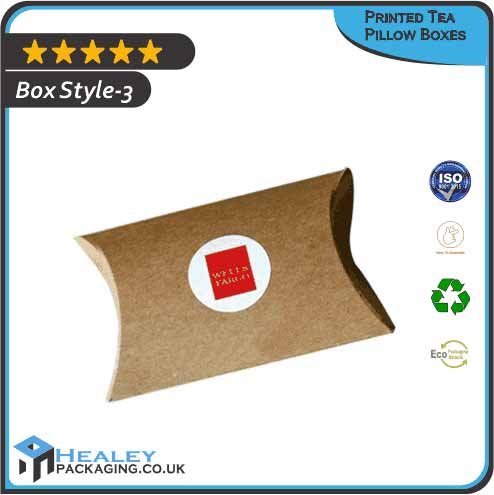 Tea Pillow Packaging Boxes