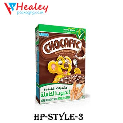 Chocolate Cereal Packaging