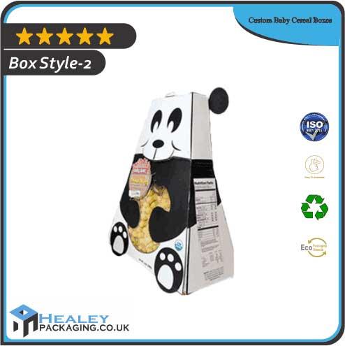 Custom Baby Cereal Box