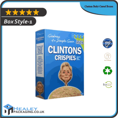 Custom Baby Cereal Boxes