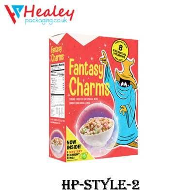 Custom Breakfast Cereal Box