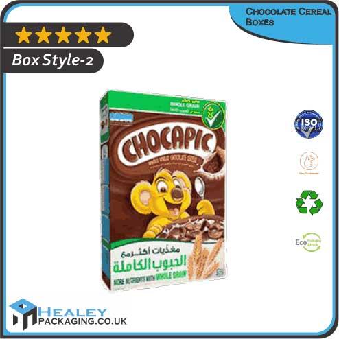 Custom Chocolate Cereal Box