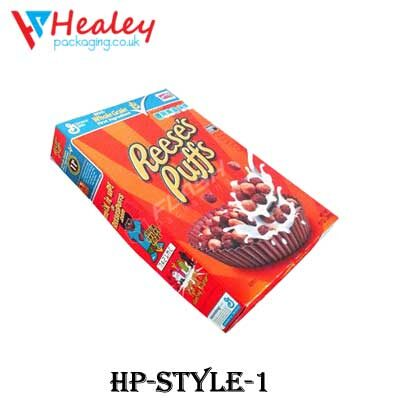 Custom Chocolate Cereal Boxes