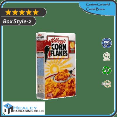 Custom Colourful Cereal Box