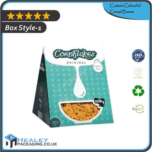 Custom Colourful Cereal Boxes