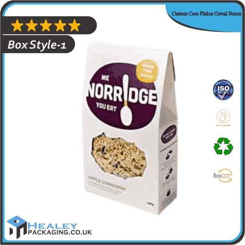 Custom Corn Flakes Cereal Box
