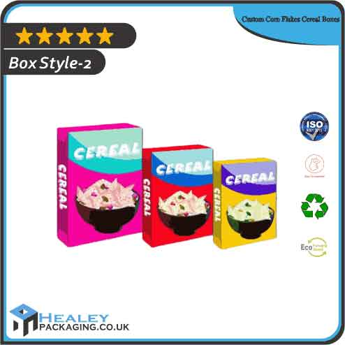 Custom Corn Flakes Cereal Boxes