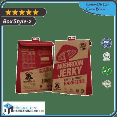 Custom Die Cut Cereal Box