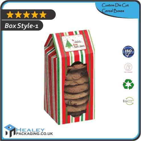 Custom Die Cut Cereal Boxes