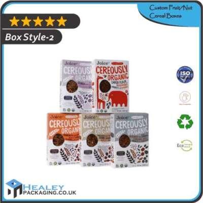 Custom FruitNut Cereal Box