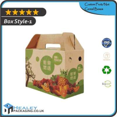 Custom FruitNut Cereal Boxes