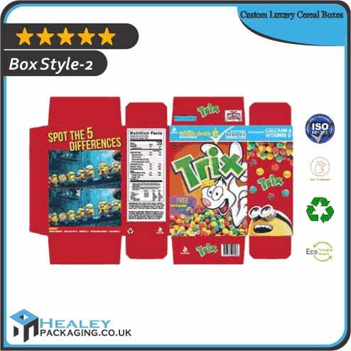 Custom Luxury Cereal Box