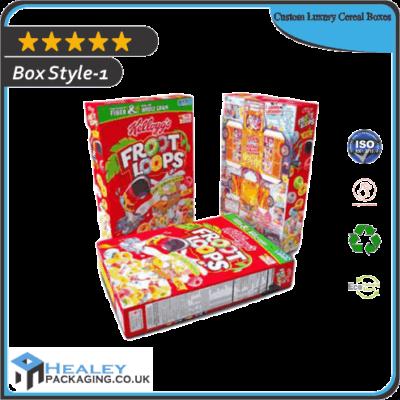 Custom Luxury Cereal Boxes