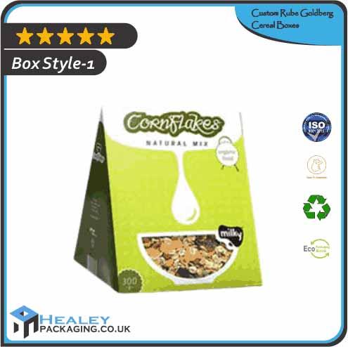 Custom Rube Goldberg Cereal Boxes