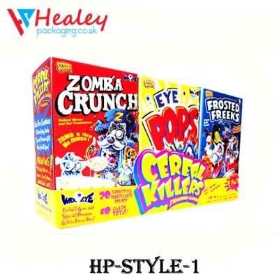 Custom Unique Cereal Boxes