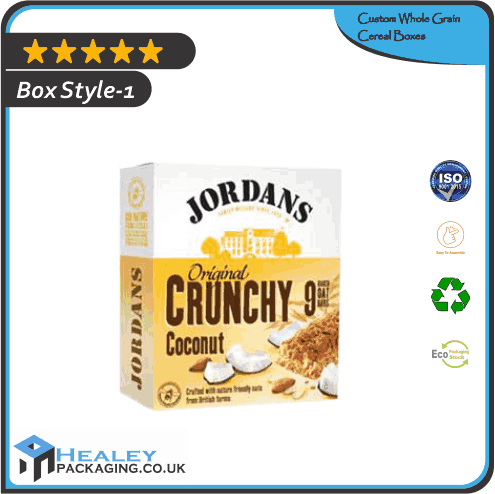 Custom Whole Grain Cereal Boxes