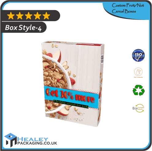 FruitNut Cereal Box