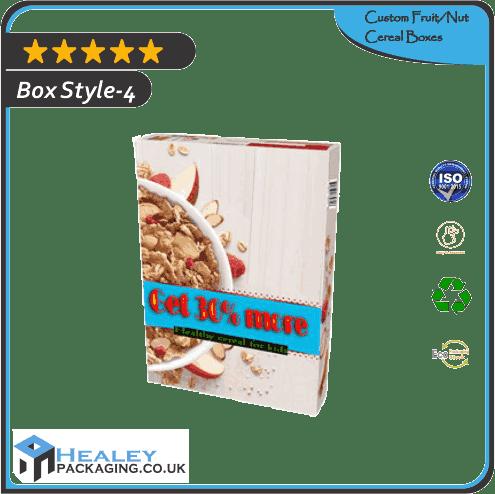 FruitNut Cereal Box